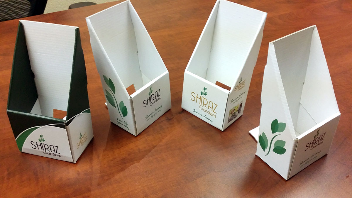 custom rack card holders - Rack Card Holders